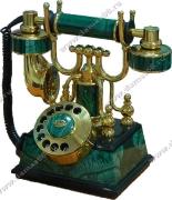 Телефонный аппарат малахит